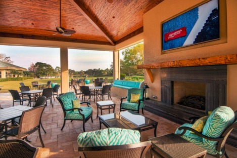 Willoughby Golf Club Outdoor Patio